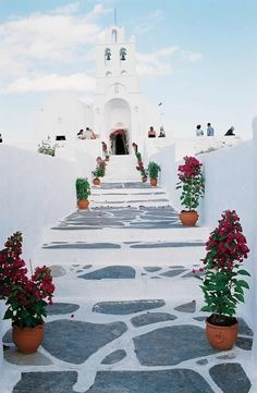 Greece Travel Inspiration - Wedding at the church of Chryssopigi in Sifnos