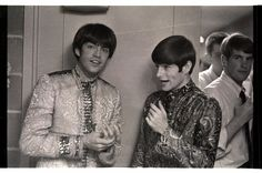 Dave with Mark Lindsay - Paul Revere & The Raiders