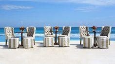 Mobiliario para Bodas / Wedding Furniture #weddingreception #banquet #hotel #bodas #weddingsdestination #weddingreception #freewedding #boda #rivieramaya #cancun #chairs