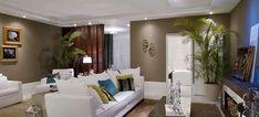 Sala de jantar e dormitório foram pintadas com tinta acrílica Líquens da Suvinil. Casa Cor Rio Grande do Sul completa 20 anos de mostra - Casa
