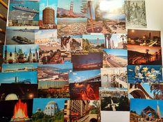 Lot of 95 Vintage Postcards from early 1900's  70's