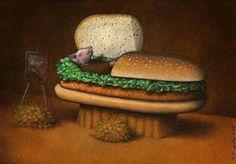 Animals Matter To Me.Art by Pawel Kuczynski