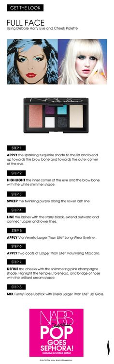 Get the Look: Full Face #NARS #Sephora
