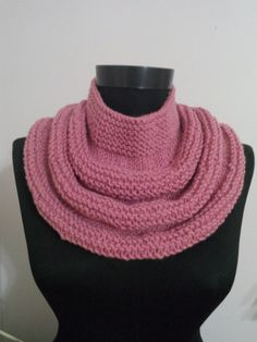 Hey, I found this really awesome Etsy listing at https://www.etsy.com/listing/214816191/pink-girl-scarfknit-scarf-infinity-scarf #woman #knittedscarf