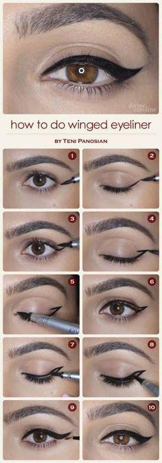 8d3adc8929492a1a5a8ce83f2f4ad7d0 Eye liner: 4 modi per applicarlo alla perfezione