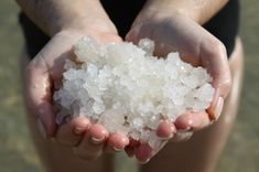 Dead Sea Salt for acne - better keep this handy for when the kids grow up. . .