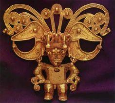 Figura en oro  Museo del Oro  Peru