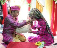 Seperangkat alat sholat mahar pernikahan ku
