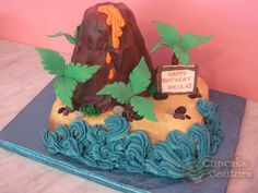 Image detail for -Volcano Birthday Cake
