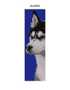 Alaska Peyote Pattern by MyCraftAsylum on Etsy