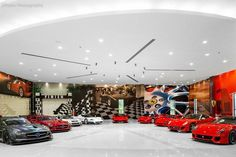 Top 70 Best Garage Wall Ideas - Masculine Interior Designs From salvaged wood panels to paint themes, discover the top 70 best garage wall ideas. Explore interior designs for your automotive and workshop space. Man Cave Garage, Garage House, Dream Garage, Car Garage, Cool Garages, Custom Garages, Garage Design, House Design, Luxury Cars
