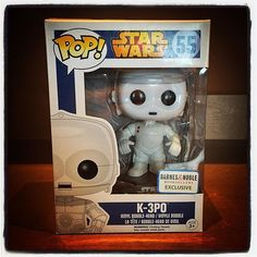 K-3PO! A pop-rotocol droid I was looking for. (from @howiecohensea)