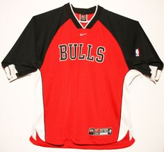 Nike NBA Chicago Bulls Authentic Warm Up/Shooting Shirt Trikot/Jersey Size 44 - Größe L - 129,90€ #nba #basketball #trikot #jersey #etsy #sport #fitness #fanartikel #merchandise #usa #america #fashion #mode #collectable #memorabilia #allbigeverything