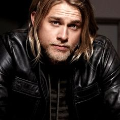 """Charlie Hunnam as """"Jax Teller"""" in Sons of Anarchy"""
