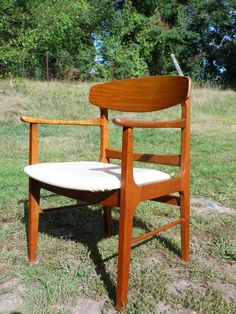 Vintage Mid Century Danish Modern Lounge Arm Chair Office Desk Chair Eames Era