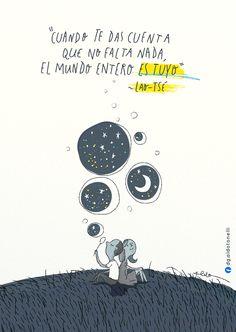 El universo entero cabe en una burbuja, la burbuja cabe en tu mano. Todo aquello que siempre quisiste ya lo tienes. Aquello que buscas, est...