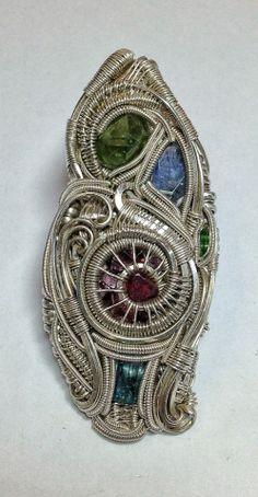 ©Dust77 x nesDesigns #wirewrap #jewelry #wirewrapjewelry