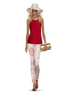 Styled with: Rachel Zoe, Hudson, Cut25 by Yigal Azrouel, Cashhimi, Karen London, Eric Javits, Rebecca Minkoff, Isharya   Create your own look with Covet Fashion