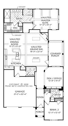 Mascord House Plan 1111AD Traditional House plans and