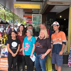 At spoon today for the Brisbane Launch of the save our weekend campaign with the TSU Together MUA CFMEU as well as many others. #buildabetterfuture #proudtobeunion. union Proud