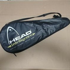 Head Intelligence i.intrepid Tennis Racquet With Original Shoulder Carrying Case Racquet Sports, Tennis Racket, Carry On, Game, The Originals, Shoulder, Cover, Ebay, Sports