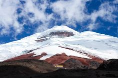 """Cotopaxi is an active stratovolcano in the Andes Mountains and is the second highest summit in Ecuador. It is one of the world's highest volcanoes reaching a height of 19347 ft. With 87 known eruptions the most recent being in August  of 2015  Cotopaxi is one of Ecuador's most active volcanoes. Many sources claim that Cotopaxi means """"Neck of the Moon"""" in an indigenous language but this is unproven. #Cotopaxi #stratovolcano #andesmountains #ecuador #southamerica #mountains #volcano #rutaviva…"""