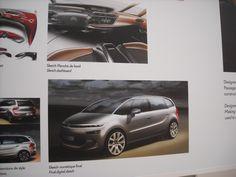 Design : aux origines du Citroën C4 Picasso