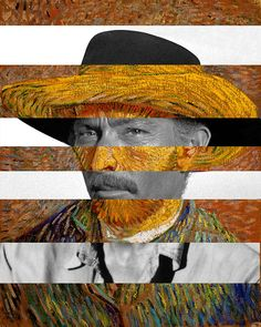 Van Gogh's Self Portrait & Lee Van Cleef
