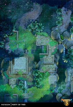 Aztec Temple, Jungle Temple, Dnd World Map, Forest Map, Rpg Map, Map Layout, Dungeons And Dragons 5e, Jungle Art, Map Maker