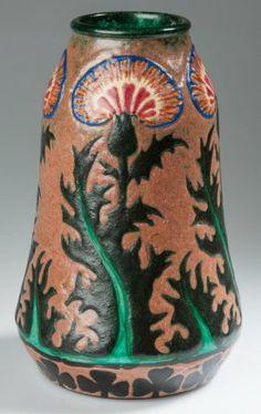 German Pottery Franz Anton Mehlem, Royal Bonn Factory A
