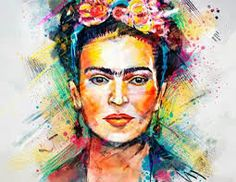 Affiche Art-Poster 50 x 70 cm Frida Kahlo by Tracie Andrews Arte Pop, Pop Art, Frida Art, Frida Kahlo Artwork, Kunst Poster, Art Graphique, Mexican Art, Wassily Kandinsky, Canvas Artwork