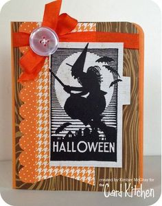 Halloween card Card by Kimber McGray for the Card Kitchen Kit Club; October 2013 Card Kitchen Kit