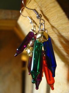 Christmas Light Earrings (For Helen, and she knows why/vc)
