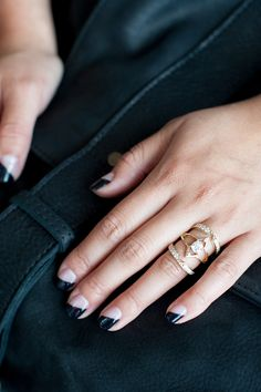 7 Mind-Blowingly Unique Engagement Rings From Cool S.F. Gals #refinery29