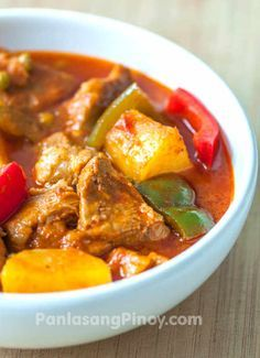 Easy Afritada is another version of pork afritada. This recipe will guide you on how to prepare your favorite pork afritada with ease and confidence. My secret for a good afritada recipe, and for any other meat recipes, is the quality of the meat.