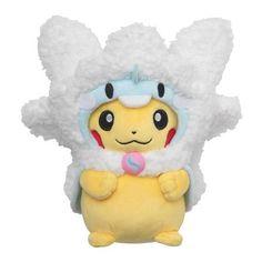 Pokemon Center Original Paar Plüsch Puppe Pikachu /& Shaymin 20th Anniversary
