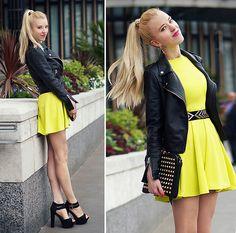 New Look Dress, Fleq Bag