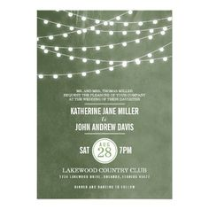 ShoppingSummer String Lights Wedding InvitationThis site is will advise you where to buy