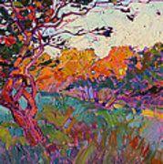 Oaken Light Print by Erin Hanson