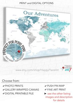 World Map With USA States, USA States And Cities, Map With USA Details,