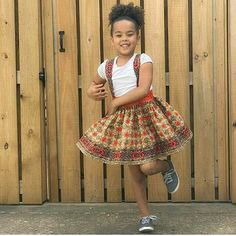 Key into the native fashion world by dressing kids up the African way. Here are the kiddies' Ankara styles your little divas should be rocking now; Ankara Styles For Kids, Trendy Ankara Styles, African Wear, African Fashion, Native Fashion, Ankara Fashion, African Children, African Women, Ankara Designs