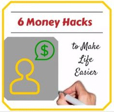 6 Money Hacks to Make Life Easier via Yahoo Finance written by Karen Cordaway http://finance.yahoo.com/news/6-money-hacks-life-easier-134311389.html