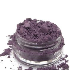 Mineral Eye Shadow Plum  shimmery mica powder by plumvalleynotions, $3.95
