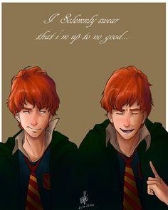 Weasley Twins by DimitraDakaki on DeviantArt