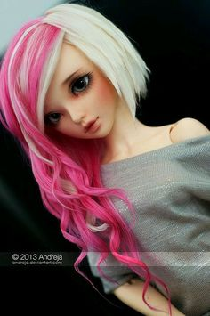 BJD I love her hair!!!!