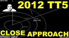 Asteroid 2012 TT5 Close Approach Late September 2015 https://youtu.be/ghB0VlgbfLs