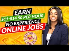 🔥 No Experience Online Jobs! Earn $11-$14/hr from Home - YouTube