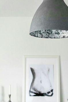 Ikea Hack Diy Lampe In Beton Optik Selber Machen Super Einfach Und Gunstig Melodi Hangelampe Von Ikea Kostet 7 Euro Von Diy Lampen Lampen Schlagmetall