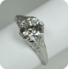 Gorgeous Diamond Ring - Etsy:  Greenhill Jewelers
