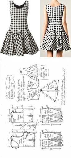 Amazing Sewing Patterns Clone Your Clothes Ideas. Enchanting Sewing Patterns Clone Your Clothes Ideas. Fashion Sewing, Diy Fashion, Ideias Fashion, Fashion Details, Origami Fashion, Fashion Clothes, Dress Sewing Patterns, Clothing Patterns, Sewing Ideas